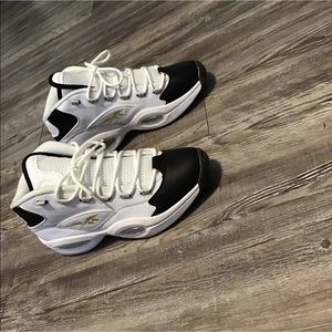 """Reebok Question""""Repsect my shine"""""""